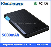 Hot sale portable power bank 5000mAh for smartphone