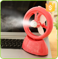 Chinese electrical custom no noise water spray mist windy fan