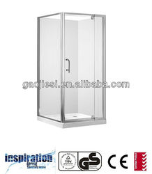 GF90 Shower enclosure/ shower cabin with shower tray, shower base and shower wall liner/ Australia standard shower room