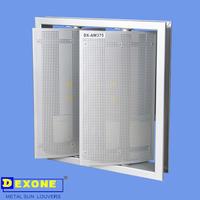 Adjustable Aluminium Aerofoil sun louver blades aluminum window louver