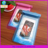 free sample folding shopping bag pvc waterproof bag for phone