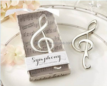"Unique Wedding Favors ""Symphony"" Music Note Shape Bottle Opener wedding gift"