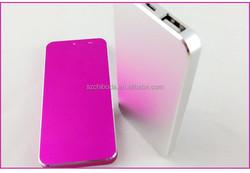 2Dual USB Power Bank 5000mAh Smartphone Charger Mobile Backup Battery
