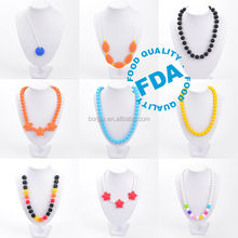 Baby Silicone Teething Necklace Jewellery