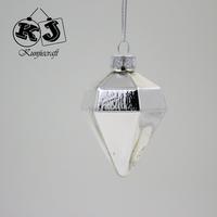 2015 New Designed Glass christmas ornament crafts