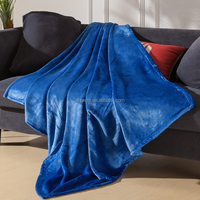 New China Soft Polyester Fabric Large Size Blanket