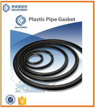 EPDM or SBR rubber gasket for sewer pipes and fittings