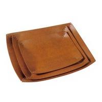 Leather Fruit Dish Fruit Plate