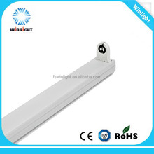 2015 high quality morden iron t8 led light fixture without ballast