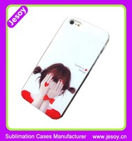 JESOY Hot Selling Fashion Personalized 3D Sublimation Cell Phone Case For iphone 5 5c 6 6s