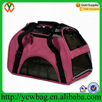 Wholesale Large Red Soft-Sided Kennel Cab Cheap Pet Carrier