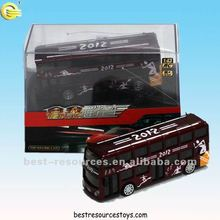 London 2012 Olympic Games 1:43 Metal R/C Tour Bus 1.43 Metal Die-cast Alloy Remote Control Car