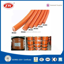 50mm rubber sheathed copper welding cable 50mm