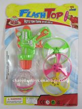 Wind up lighting spinning tops with 3 spinners SP74112834-10
