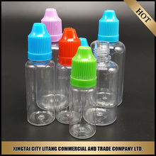 small 5ml PET clear e cig bottle for e-liquid ship by courier, factory price of e cigarette bottle for 3ml