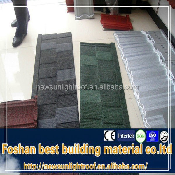 Roof Material CE Certificate shingle mixed color stone coated steel roof tile/Aluminium Zinc Sheet/Tile Roof