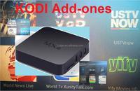World New live world TV Fox news US TV VOD TV box MXQ Almogice S805 1GB/8GB KODI XBMC YIfy Movies online Channels android box