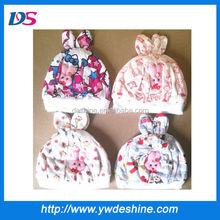 wholesale cotton rabbit ear baby cap MZ273