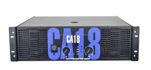 CA 18 Class H professional audio power amplifier with 2ohms