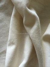 White Color Cotton Velveteen Fabric