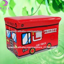 compartimiento de almacenamiento bus caja de almacenamiento de juguete plegable
