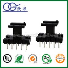 split core current transformer bobbin EE19 PIN5:5 with baffle