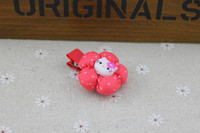 baby hair accessories for christmas hello kitty hair elastic band fashion accessories in korean artificial flower