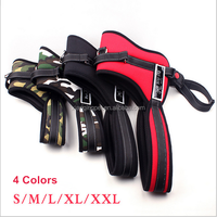 Professional top quality Outdoor Sports pet traction safety protection Dog harnesses for Large / Medium dog