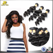 JP Hair 2015 New Arrival Untreated Eurasian Loose Wave Natural Black Afro Hair Products