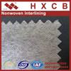 100% Polyester Nonwoven Interlining Fabric Non Wonven Interfacing Cloth Polyester Fabric for Garments Accessory