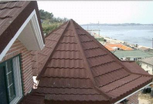 Classical Versatile Decorative Corrugated Stone Coated Metal Roofing
