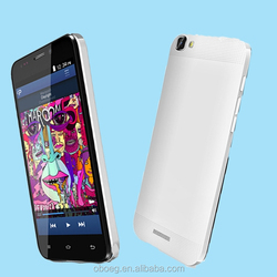 OEM/ODM factory supply high quality 5inch quad core mobile phone 1GB+8GB, 2.0M front , 5.0m back camera cheap mobile phone