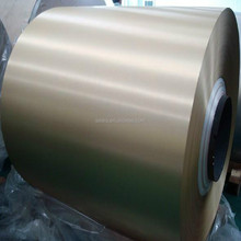 High quality 5052 5005 5754 5083 color coated aluminum coil for gutter made in china