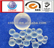 Small transparent Solid Glass ball