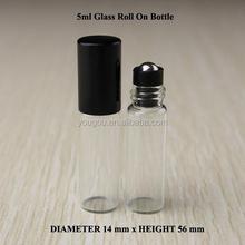 new roll on bottles steel roller ball roll on glass refill bottle