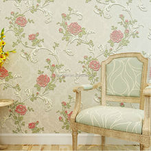 Levinger beauty flower designer wallpaper eco-friendly non-woven wallpaper for home decoration