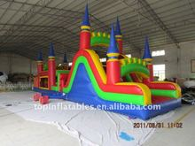 attractive inflatable obstacle