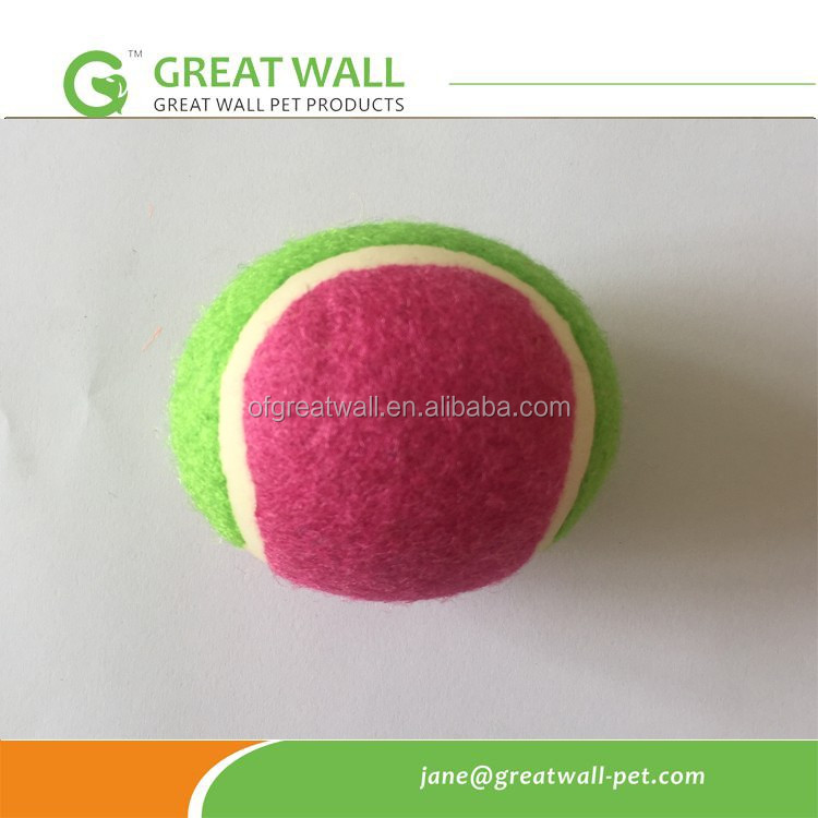 Melhor qualidade de 70mm de diâmetro bola de tênis para a praia