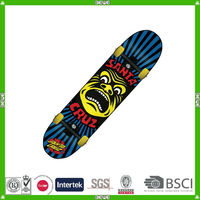 China made canadian wooden long board skateboard supplier