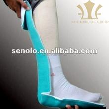 orthopedic fiberglass cast splint OEM..Makes X-ray Photo without remove