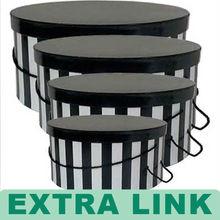 Hot Sale New Design Handmade Round Hat Box Wholesale