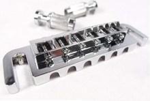 Chrome PRS JUNIOR Tune-O-Matic Bridge Fit Gibs fit ESP/B.C. Rich/Gib.