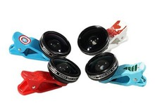 Newest Cartoon Universal Clip Camera Phone Lens 0.4X Super Wide Angle Lens camera lens for Iphone&Sumsung all phones