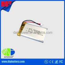 Custom li polymer battery rechargeable 7.4v 3.7v li-polymer battery 1500mah