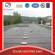 PVC/EPDM UV aging resistant rubber plastic mat for SPA solar heating