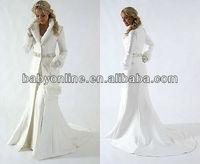 Hot Bridal Cape Ivory Stunning Wedding Cloaks Faux Fur Perfect For Winter Wedding Bridal Jacket Winter Wedding Dresses WW001