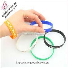 wrist band/bracelet/silicone band(factory)