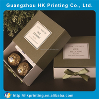 Accept custom order scarf package box for gift