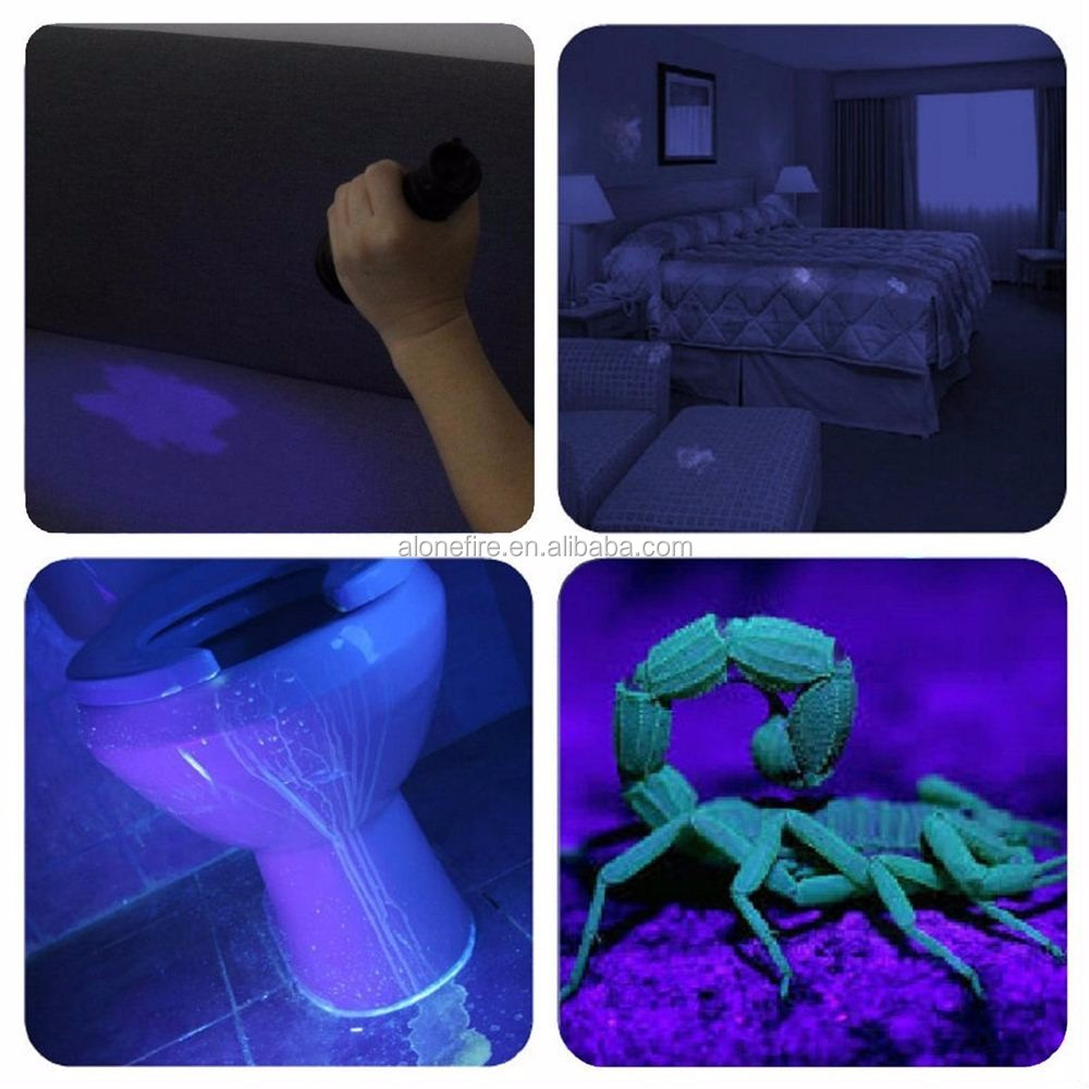 501B UV blacklight flashlight (9)