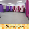 Environmental Material Interior commercial flooring with wood surface vinyl flooring roll